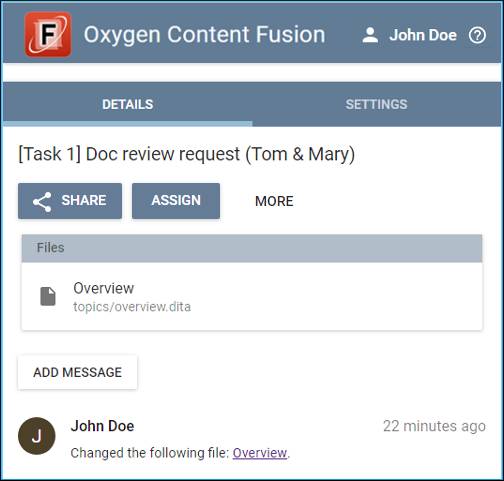 Content Fusion Interface for Content Author
