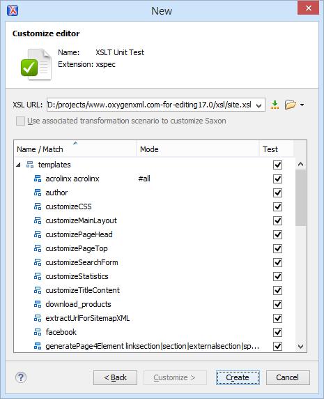 XSLT Unit Test (XSpec)
