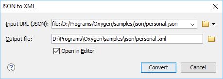 JSON to XML Converter