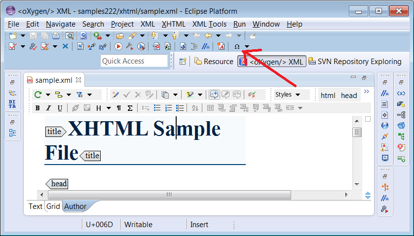 Inserting Sysmbols Support In Eclipse Oxygen Oxygen Xml Forum