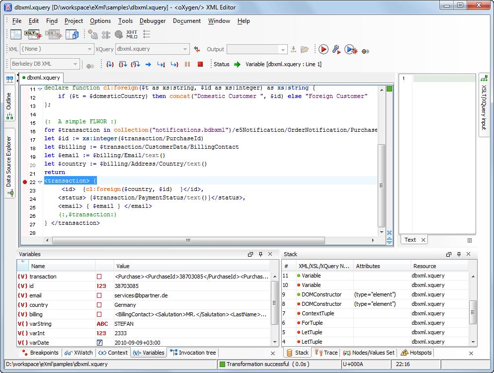 oracle berkeley db xml support rh oxygenxml com Oracle Coherence Berkeley DB Performance