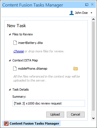 Create Review Task - Step 4