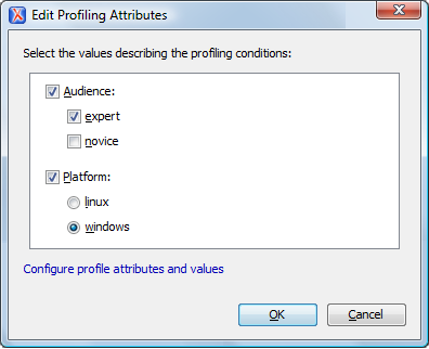 Conditional Processing Edit Attributes