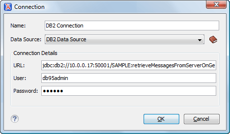 Connection Configuration Dialog