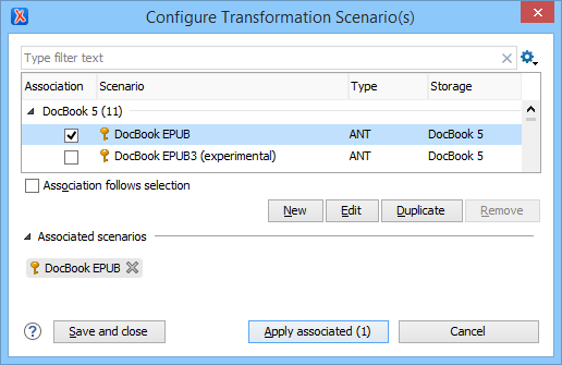 Configuring the docbook XSL/FO transformation