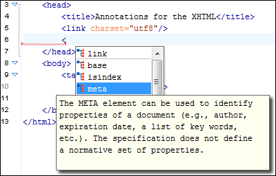 XHTML Source Editor