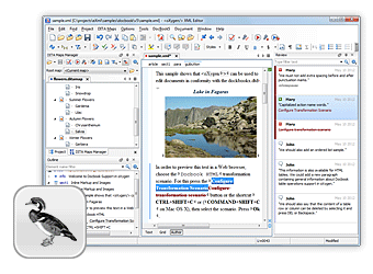 Visual DocBook Editor