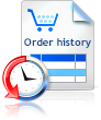 Request an order history