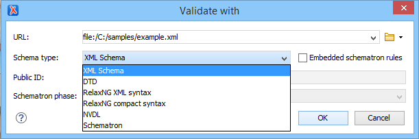 Validate with schema