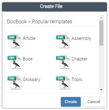 DocBook Templates