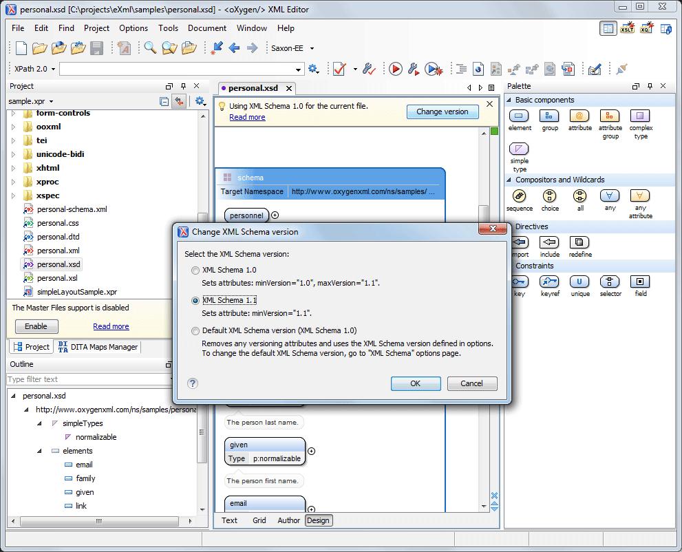 Oxygen XML Editor 15 2