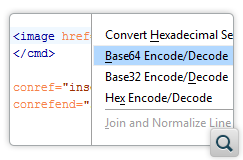 Encode/Decode Base 64, Base 32, and Hex Encoding Schemes