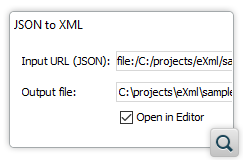 Convert JSON Files to XML