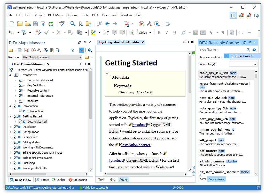 What's New in Oxygen XML Editor 20 1