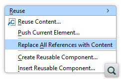Resolve References