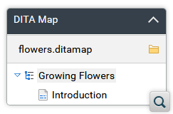 New DITA Map View