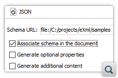 New JSON Document Template Customization Options