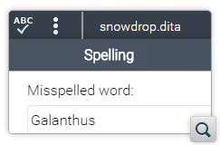 Plugin for Manual Spell Checking