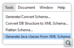 Generate Java Classes from XSD