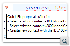 Enhanced Validation and Content Completion for DITA-OT Project Files