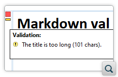 Validate Markdown Documents with Schematron