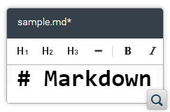 Toolbar Actions to Insert Markup