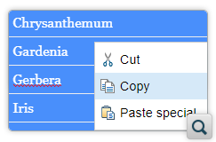 Copy Content and Paste as HTML