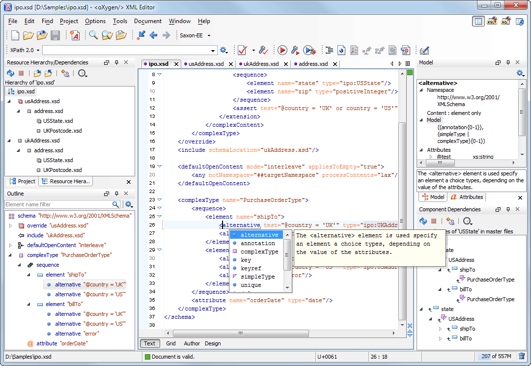 what is new in oXygen XML Editor 14 1