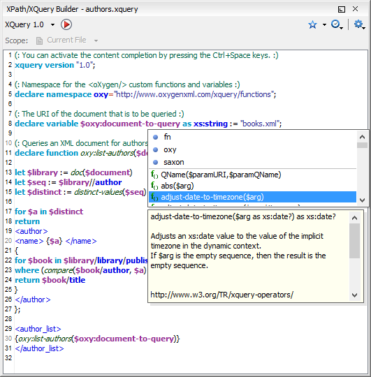 XPath Builder View